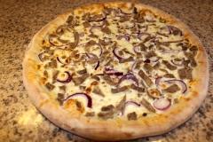 Pizza s kachnou