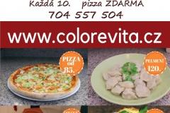 Pizzerie COLORE VITA Nehvizdy ul. Pražská 45 Tel. 704 557 504 E–mail colorevita@seznam.cz